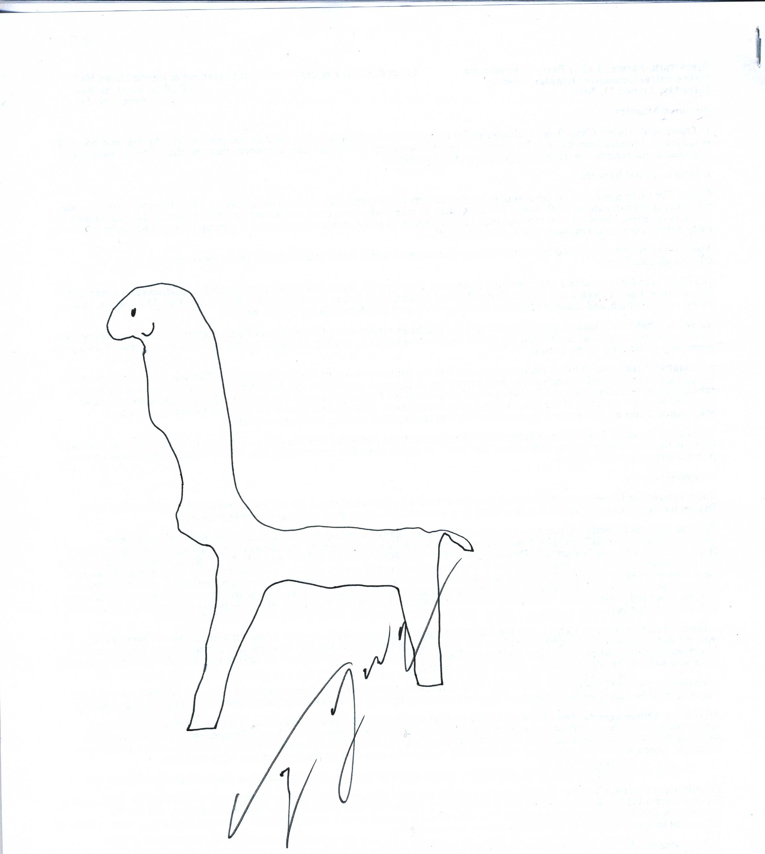 Giraffes Drawn By People Who Should Not Be