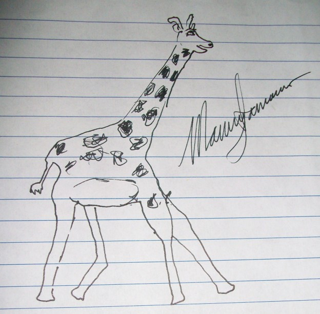 Minnesota Orchestra Trumpeter Manny Laureano's Pretty Awful Giraffe