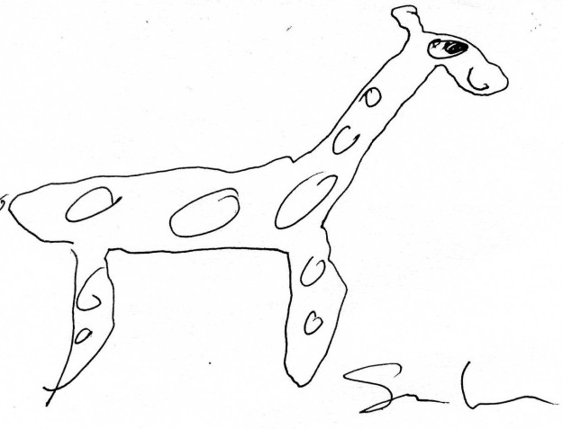 Author Sam Lipsyte's Pretty Awful Giraffe 4-8-11