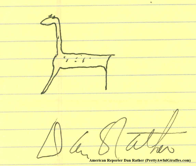 Dan Rather's Pretty Awful Giraffe