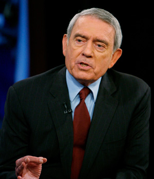 American Journalist Dan Rather