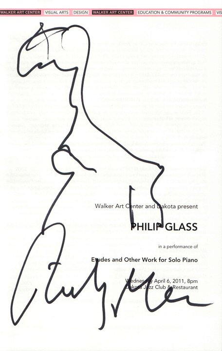 Philip Glass' Pretty Awful Giraffe - April 6 2011