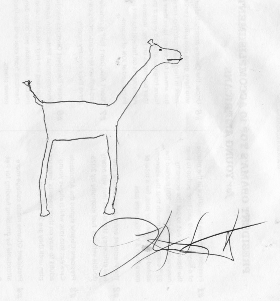 Actor Josh Hartnett Cannot Draw A Giraffe
