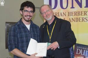 Strange Man with author Kevin J. Anderson