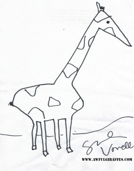 Sarah Vowell Giraffe